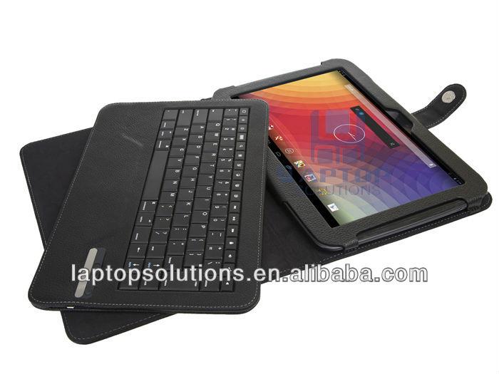 "10"" wireless bluetooth keyboard case for Google nexus"