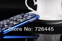 новые роскошные кроны + череп шаблон жесткий заднюю крышку случае для samsung galaxy s4 i9500 Аксессуары для сотовых телефонов