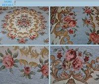 B-029 Light Blue 120X180cm carpet the Mediterranean style Beautiful Flower living room and Bedroom floor Mat Rug