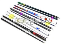 carbon 1/2 snooker billiard cue stick cue stainless joint 9.5mm tip free barrel,gloves,leather tip,chalk