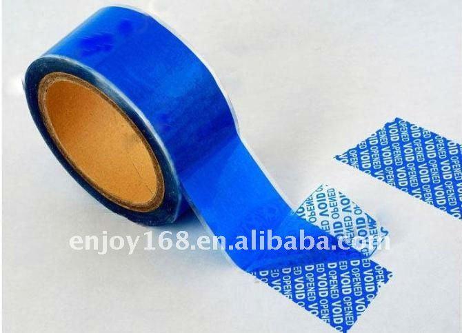Security Seal Sticker Packaging Label Warranty Void Tape