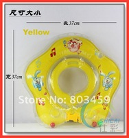 Flower-shaped circle baby neck ring child swim ring baby swimming neck ring Free Shipping