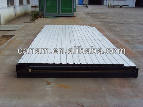 16/ 20 ft light steel folded container storage for Factory Logistics
