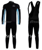 Мужская одежда для велоспорта 2010 BIANCHI Thermal Fleece Wintel Cycling Long Sleeve Jersey /Bike Wear & Black Bib Pants Suits /Sets