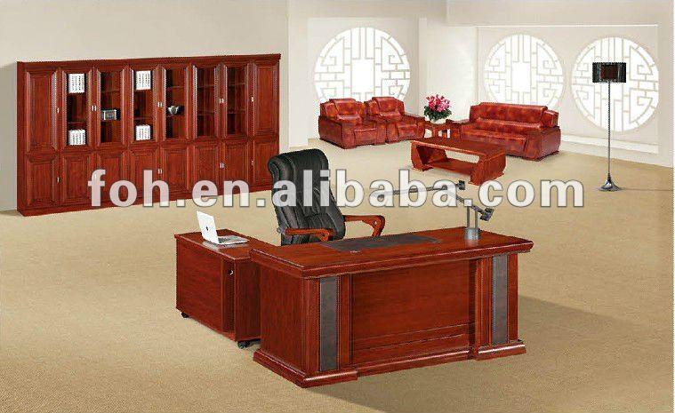 mesa de madera muebles antiguos escritorios foha