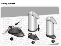 Новый дизайн нержавеющая сталь авто распределитель бесконтактный sanitizer мыла