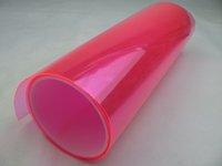 "Губки, Тряпки, Щетки для авто s Pink Car Lamp Head Light Bike Light Decoration Protector Film 48"" x 12"" Decal CLF-102"