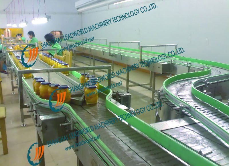 Modulel Transport System for Canned food Prouction Line