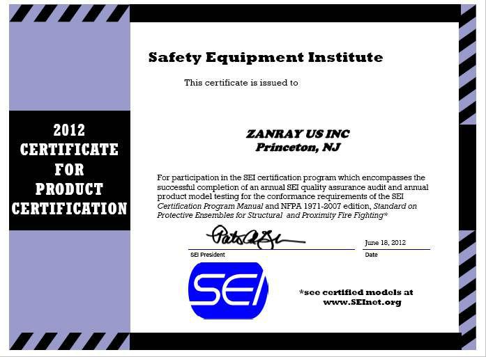 Nfpa сертификат. Jpg
