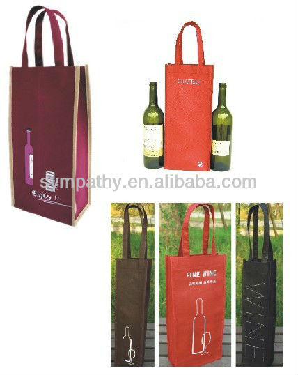 Wine bag,Wine tote bag,Wine bottle bag