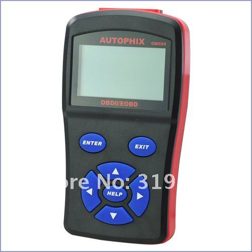 New Model OBDMATE OM520 OBD2 EOBD Code Reader Scan Tool with high quality , free shipping 