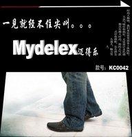 Мужские мокасины Custom Logo, Men loafer Shoes, 100%Leather Guaranteed, Causual Shoes[KC0042