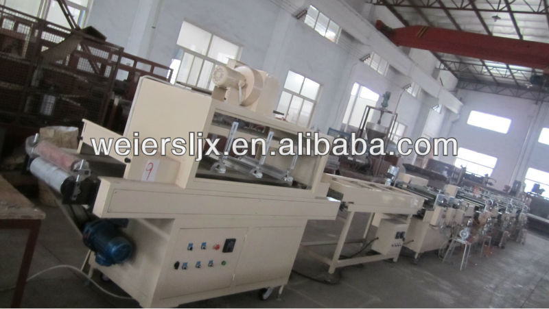 extruder machine plastic for pvc furniture edge banding machine