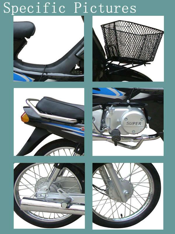 2013 4-stroke cheap price 110cc motorcycles (WJ110-6)