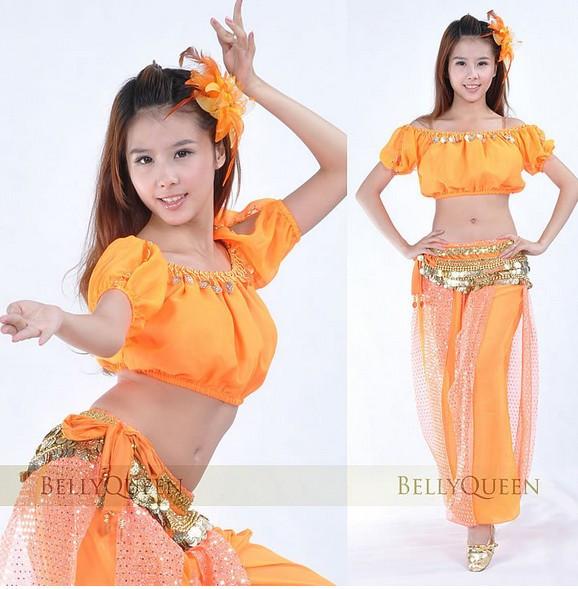 Костюм восточной танцовщицы для девочек своими руками