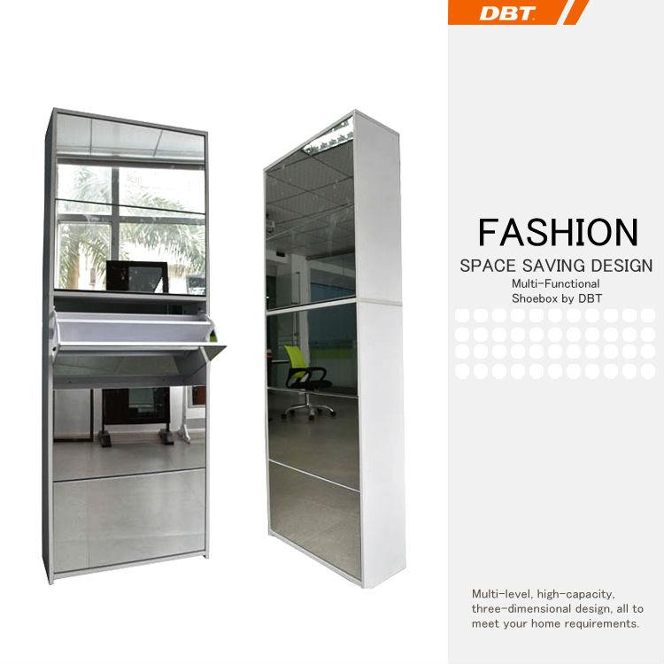 Mirror Shoe Cabinet 1