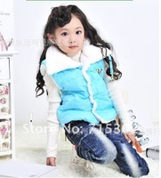 Жилет для девочек fashionable girl's cotton clothing wear autumn winter children's vest