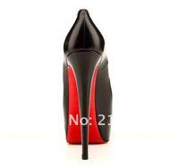 Туфли на высоком каблуке Popular Celebrity Favorite Red Bottom High Heel Shoes, Red Bottom CH Branded Victoria Beckham Same Style Platform Pumps