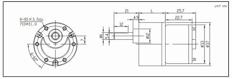 motor 12v 30rpm eixo 5mm alto torque,12v alto torque do motor de alta ratocao,motor 12v 30rpm eixo 5mm