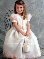 Детское платье 2011 Cheap Customer-Made Design Designer Dress For Flower Girl