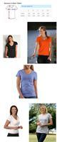 Женская футболка Custom Personalized Female's Cotton Stylish v-neck Casual T-shirt Planet Jupiter
