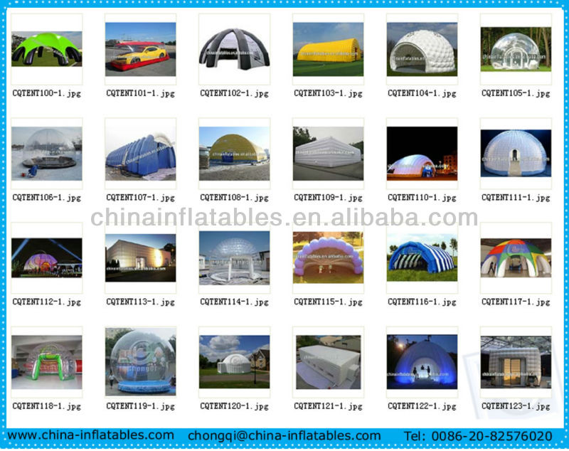 High quality cube inflatable tent price