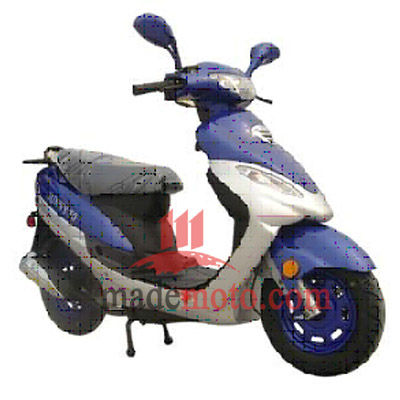 4 Stoke 80cc Engine Gas Motor Scooter MS0801