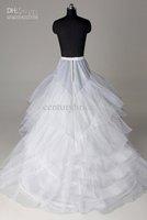 Wholesale - New Arrival 2012 I005 Modern White Floor Length underwear inner Petticoat/Wedding Dress Petticoat