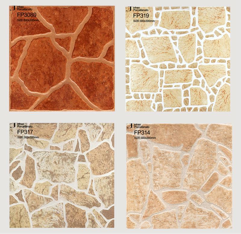 Floor design decorative garden tile