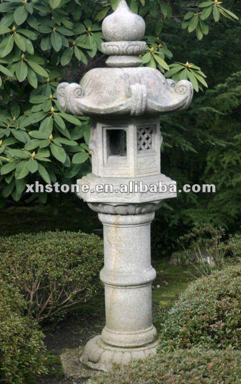 Oriental Lantern Oriental Outdoor Stone Lantern