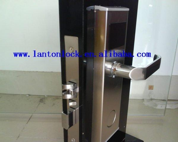 Door security hotel style lock