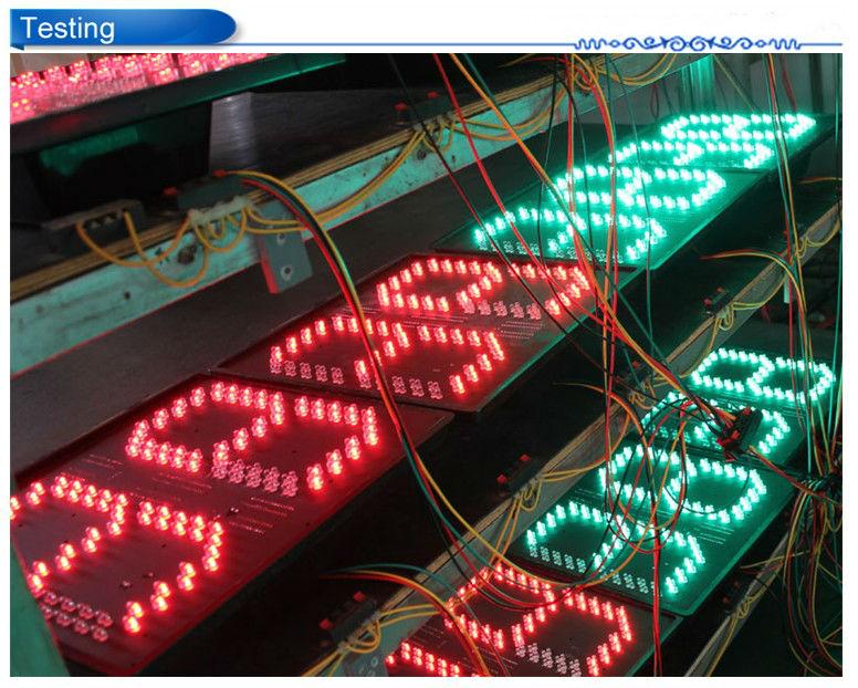 200mm temporizador led na cor vermelha e verde