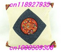 Мебельные аксессуары 24pcs embroidery, Traditional Chinese national style embroidery pattern, cushion cover bag pocket for home decoration T04
