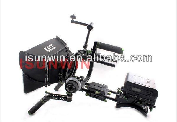 Lanparte Upgrade Version DSLR Professional Kit Complete Rig With Matte box