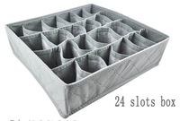 FREE SHIPPING / 3 pieces one set,foldable box / Bamboo Charcoal fibre Storage Box for bra,underwear,necktie,socks/ Home basic