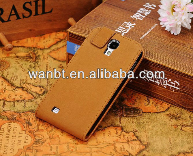 Luxury Fashion Retro Flip Leather Case For Samsung Galaxy S4 S IV i9500