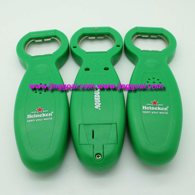 Music bottle opener