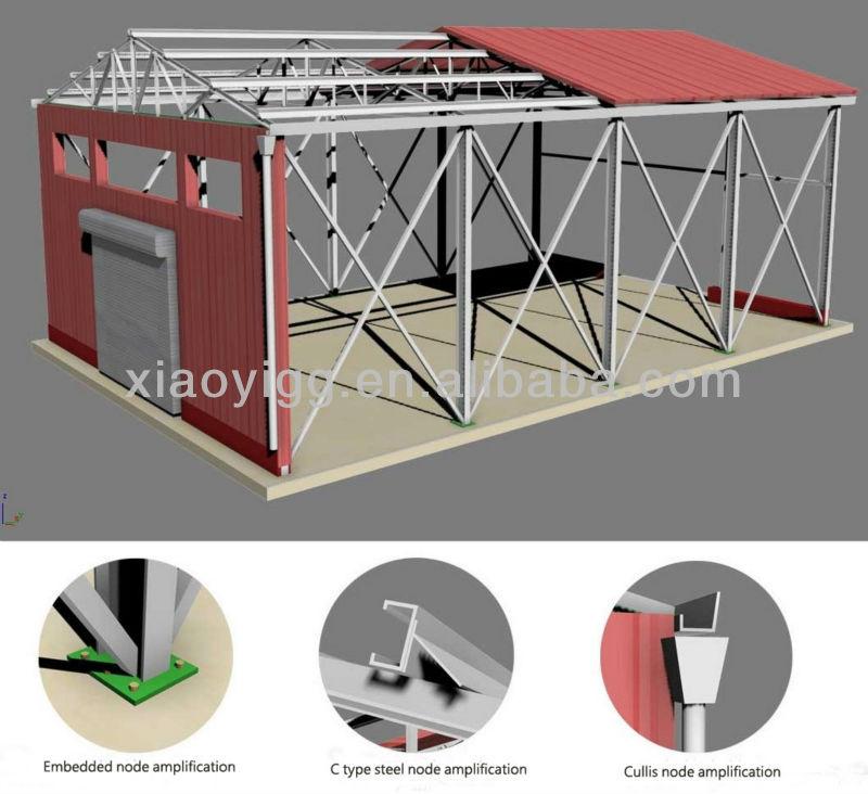 Smiple design resist-cold construction prefabricated homes
