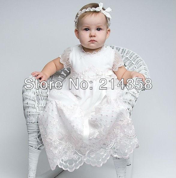 Vestidos para bebé para bautizo - Imagui