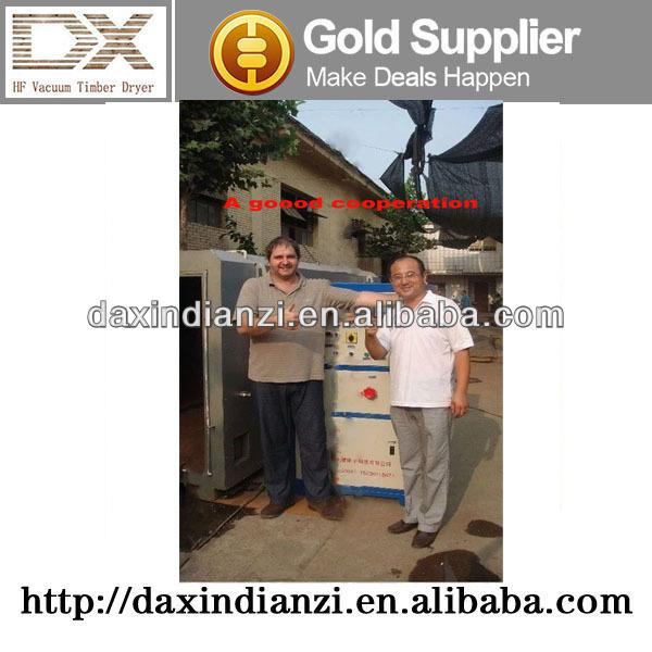 HF Vacuum wood dryer machine