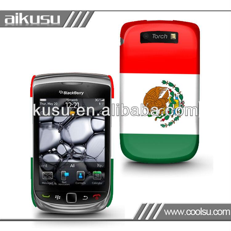 fashion design color case for blackberry 9800