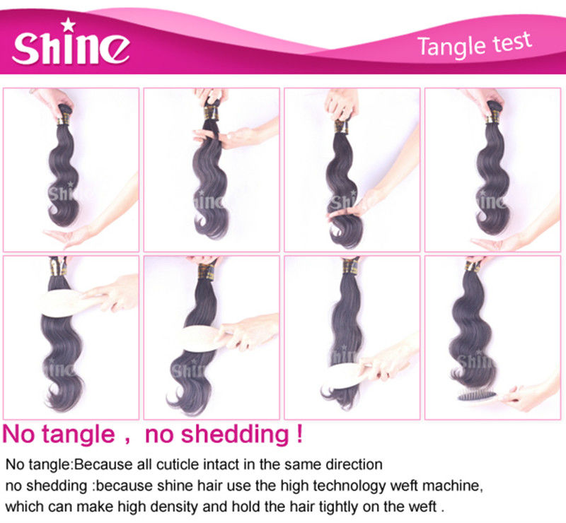 Famous brand hair factory in china shine hair Ltd.