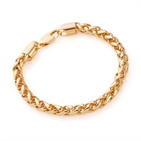 Ювелирное изделие fashion bracelet jewelry 18k yellow gold filled leisure bracelet jewellry jewelry gift chain bracelet