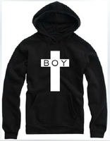 Одежда и Аксессуары East Knitting FH-138 Women/Men Cross London BOY Loose Long Sleeve Hoodies Plus Size Sprint/Autumn Style