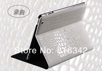 Чехол для планшета New fashion crocodile pattern Standable FOR IPAD holster can support 7 colors to choose from for ipad2/3/4