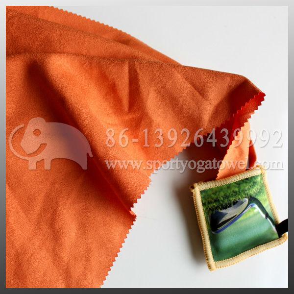 customized logo printed smooth microfiber gym towel/sports towel