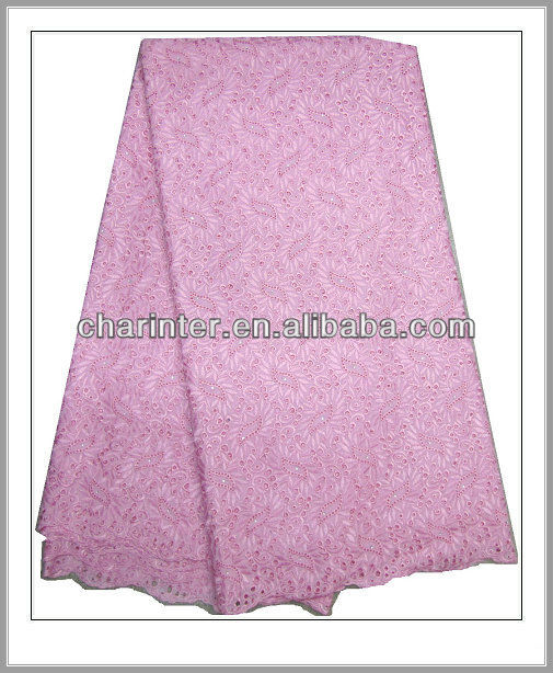 african swiss cotton lace (LA532)