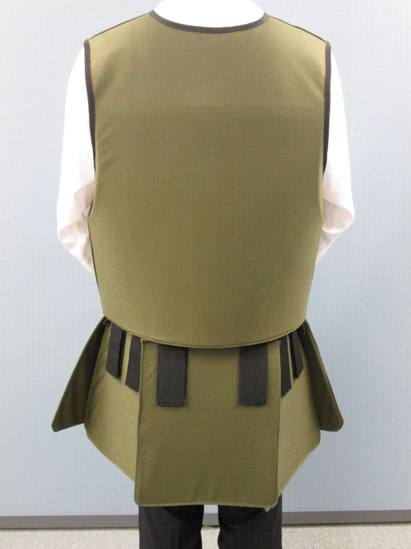 Lead free and high-functioning clothes characterized by the radiation shield property equivalent to shield by lead