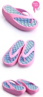 Женские сандалии 2012 new Womens Beach Wedges Platform Massage Thong Slipper Sandals Shoes