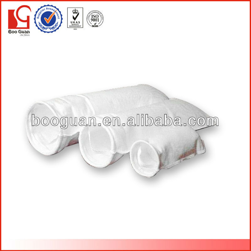 High filteration efficiency white non-woven cloth